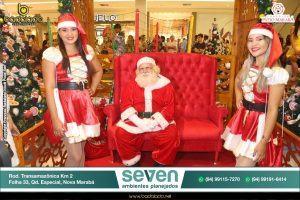 Chegada do Papai Noel no Shopping Pátio Marabá