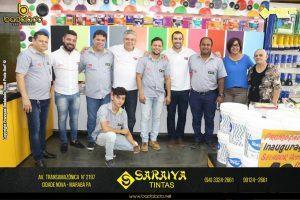 Inauguração Saraiva Tintas