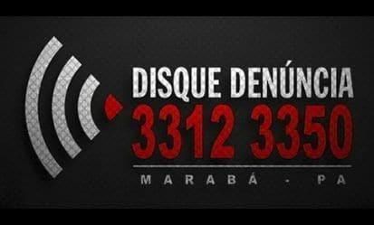 Disque denúncia Marabá.