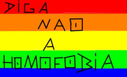 Diga não a homofobia!