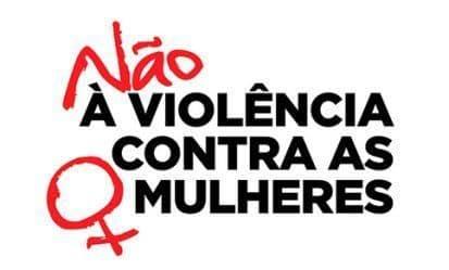 Não à violência contra as mulheres