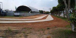 Pista de caminhada no Aeroporto de Marabá terá mais de 1 quilômetro de extensão