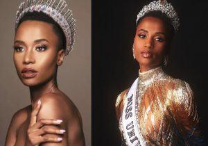 """Miss Universo é da África: """"mulher com minha pele não era bonita. Isso acaba hoje"""""""