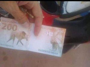 Banco Central alerta para falsa cédula de R$ 200 que estaria circulando