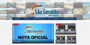 Justiça afasta secretário e controlador de São Geraldo do Araguaia