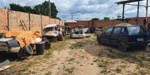 Dono de galpão com veículos roubados é preso em Marabá