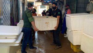 SEMMA apreende 287 kg de pescado na Feira da 28