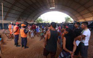 Chuva castiga, desabriga 120 famílias e Rio Tocantins passa de 10 metros