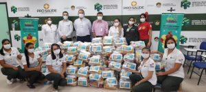 Regional de Marabá arrecada mais de 2 toneladas de alimentos para doação